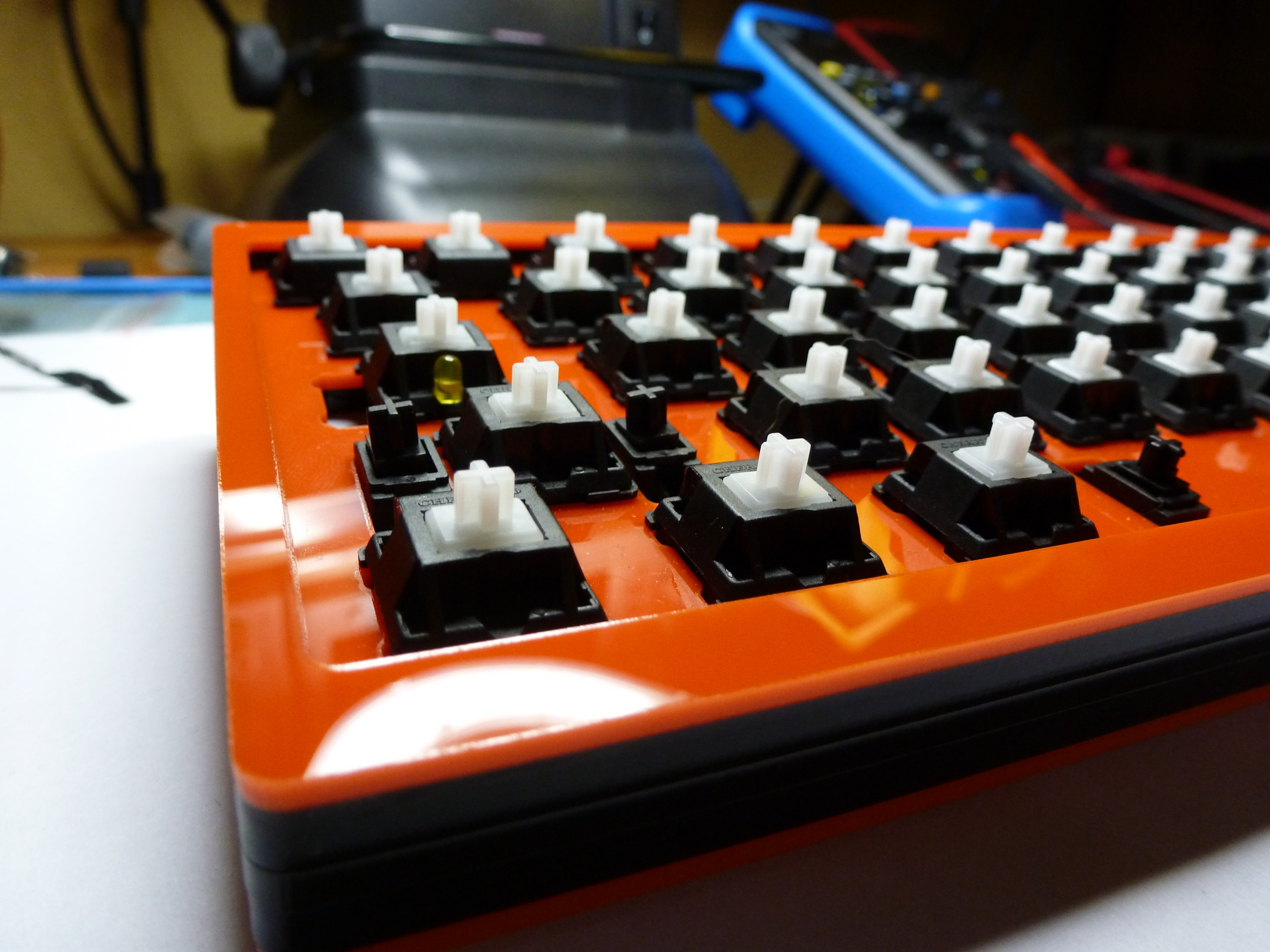 GH60 programmable keyboard | komar's techblog
