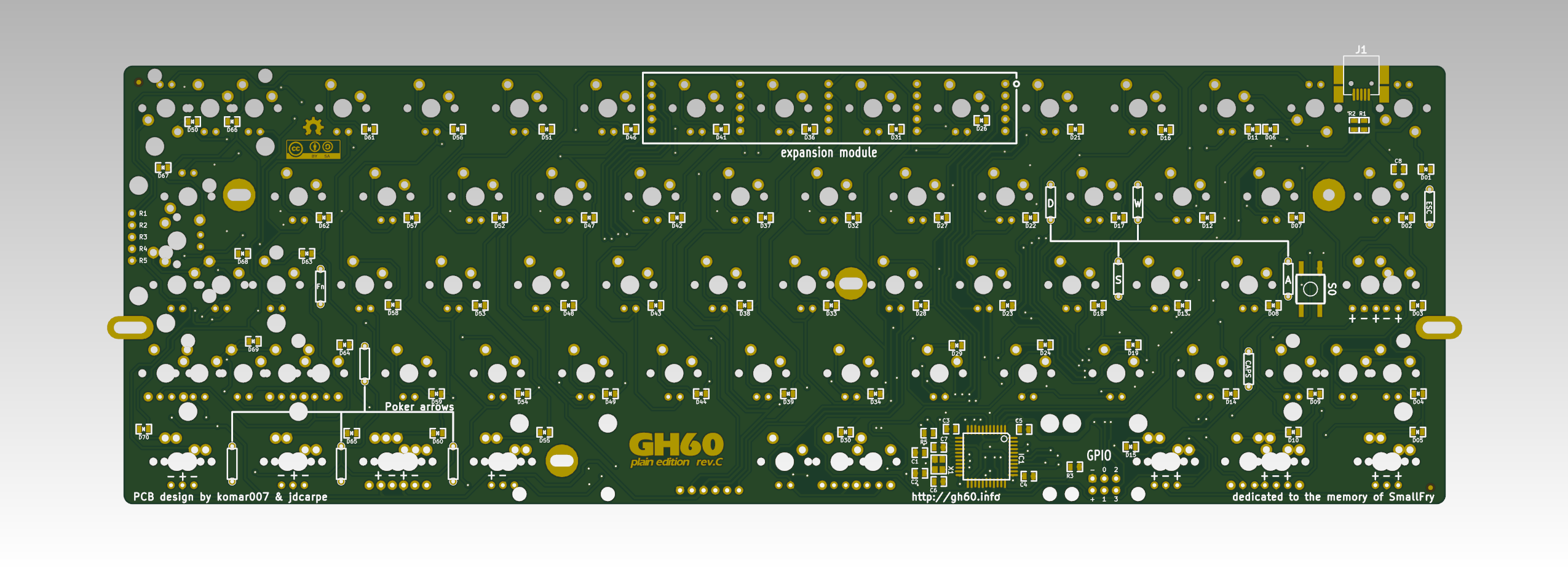 "GH60 rev  C ""plain edition"" is out | komar's techblog"